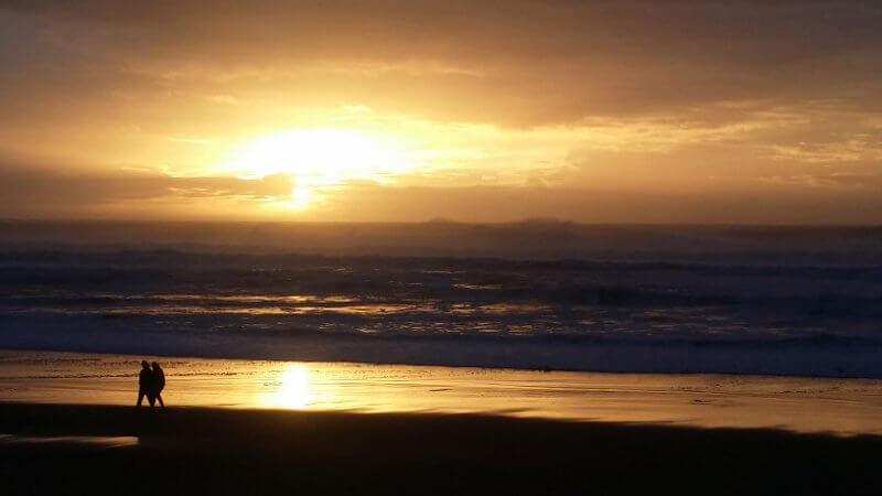 Farewell to the coast
