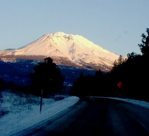 On the upside, at least Shasta has snow on it now.